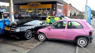 Ужасные аварии на русских дорогах!!!