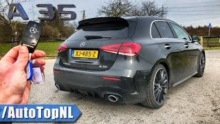 Mercedes-AMG A35 4Matic REVIEW POV Test Drive on AUTOBAHN & ROAD by AutoTopNL