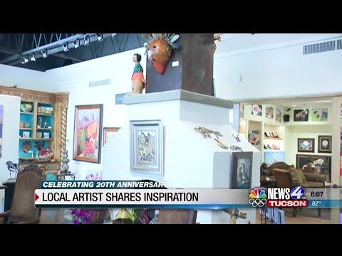 Local artist shares paintings