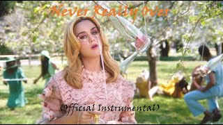 Katy Perry   Never Really Over (Official Instrumental)