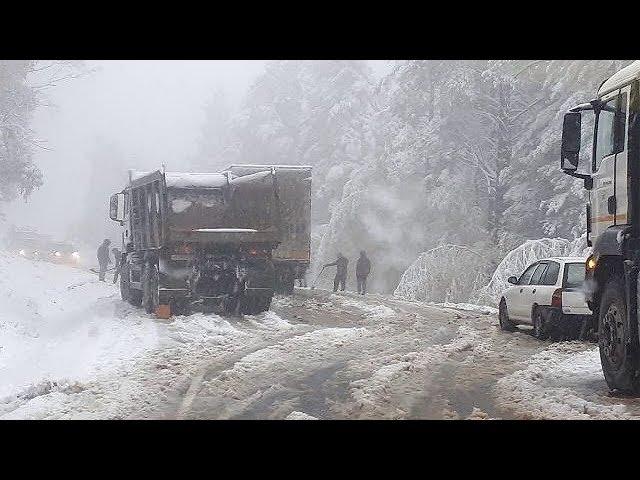 На Байкале уже снег