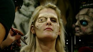 Timelapse: Artist Tate Steinsiek transforms Katie Wisely into a zombie with special effects makeup