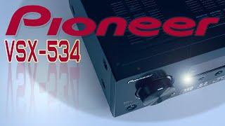 Schlanker Heimkino Spaß | Pioneer VSX-534(B) Receiver | Dolby Atmos | DTS | Bluetooth | Ersteindruck