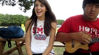 """""""hey soul sister"""" -- ukulele styleeee!"""