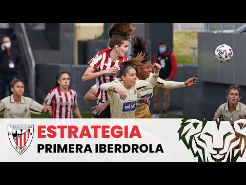 Jugadas de estrategia I Athletic Club femenino