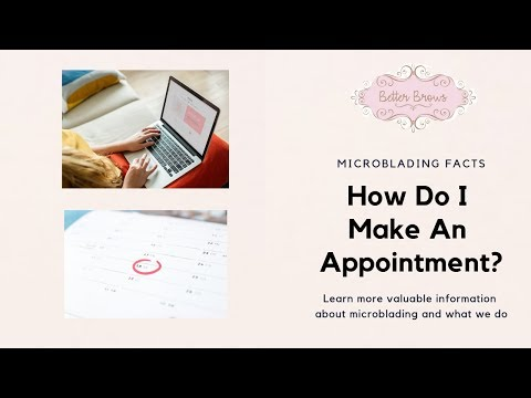 How Do I Make An Appointment?