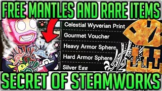 Easy Mantles/Armour Spheres/Rare Items - In Depth Steamworks Guide  - Monster Hunter World Iceborne!
