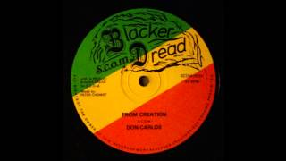 Don Carlos - From Creation 12""