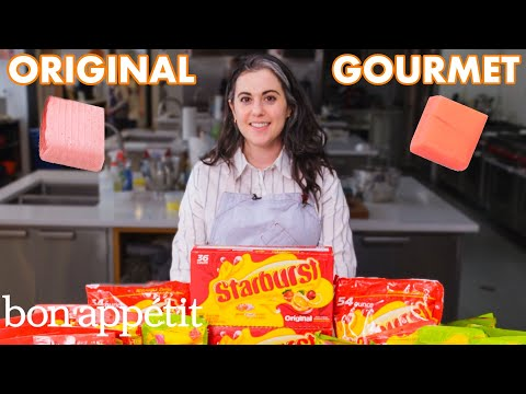 Download Pastry Chef Attempts to Make Gourmet Starburst | Gourmet Makes | Bon Appétit Mp4 HD Video and MP3