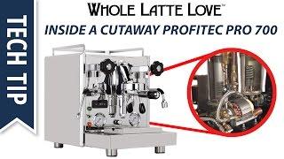 How it Works: Deep Inside a Cutaway Profitec Pro 700 Espresso Machine