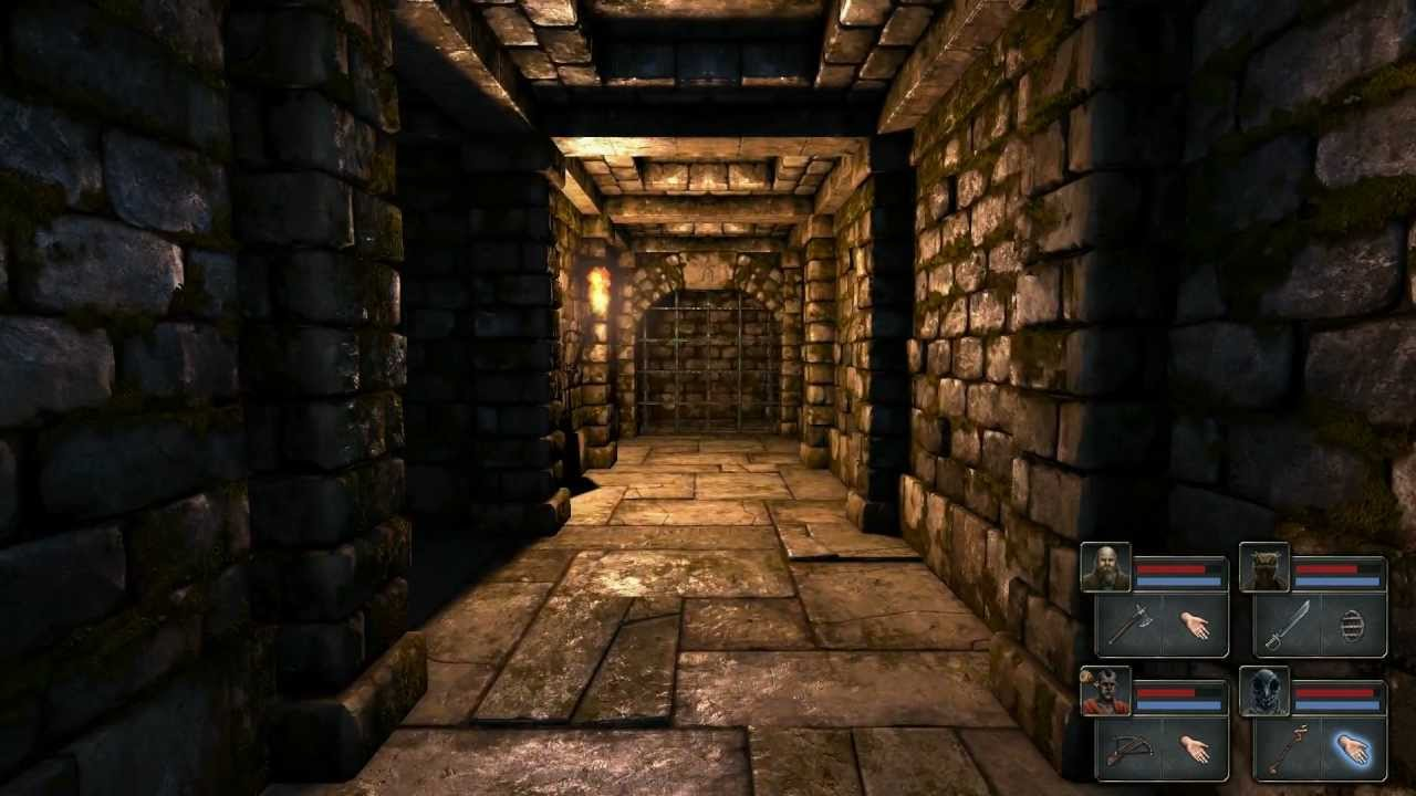 Preorders Begin For Old School Dungeon Crawler The Legend Of Grimrock