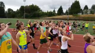Stansbury Streakers 4th annual beer mile