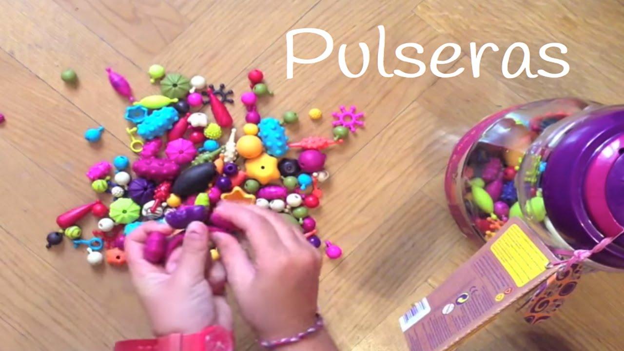 Pulseras para niños Pop- Arty : Un juego infantil muy divertido