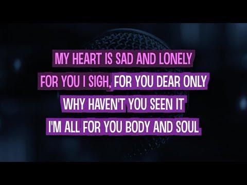 Body and Soul (Karaoke) - Amy Winehouse feat. Tony Bennett