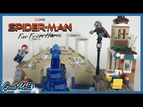 Vidéo LEGO Marvel Super Heroes 76129 : Spider man et l'attaque d'Hydro-Man