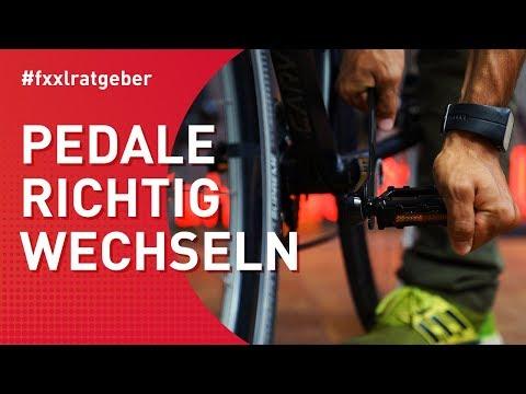Fahrrad Pedale wechseln - so geht's einfach und unkompliziert! ☝