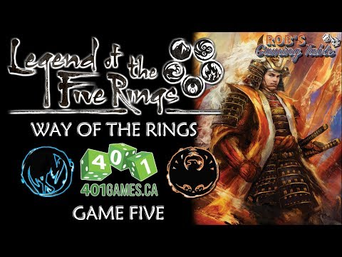 Legend of the Five Rings – Way of the Rings @ 401 Games #5