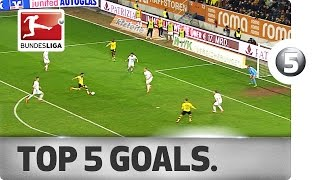 sport top 5 goluri Bundesliga