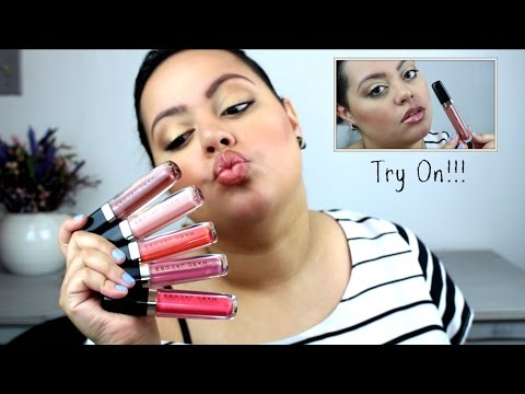Marc Jacobs Beauty Enamored Hi-Shine Lip Lacquer| Review & Try On!!!