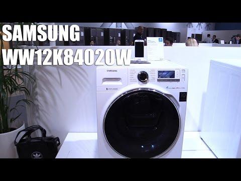 Samsung Addwash Waschmaschine mit Wifi Smart Control (WW12K84020W) Vorstellung   Allround-PC.com