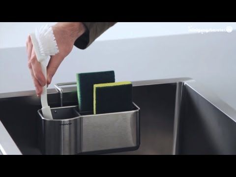 Küchenutensilienhalter Simplehuman Caddy bei www.ReinigungsBerater.de