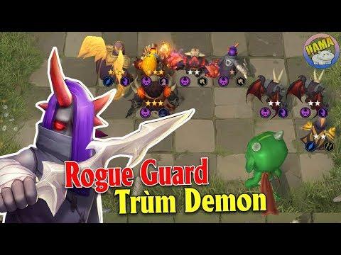 Auto Chess Mobile - Rogue Guard Chúa Quỷ Tăng Sức Mạnh Team Demon Bá Đạo