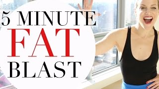 5 MINUTE FAT BLAST | TRACY CAMPOLI | CALORIE TORCHING WORKOUT by Tracy Campoli
