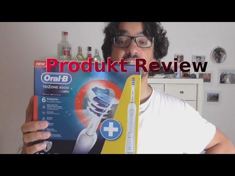 Oral-B Trizone 6500 Zahnbürste mit Bluetooth | Unboxing + Livetest | German |