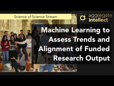 Machine Learning to Assess Trends and Alignment of Funded Research Output