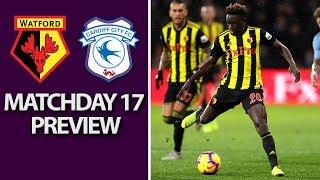 Watford v. Cardiff City | PREMIER LEAGUE MATCH PREVIEW | 12/15/18 | NBC Sports | Kholo.pk