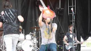 "Aranda  ""Whyyawannabringmedown"" Rock On The Range, Columbus, OH 5/20/12 live concert"