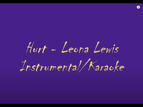 Leona Lewis Hurt Instrumental Karaoke HQ