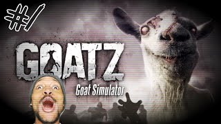 ZOMBIE GOAT! RUN FOR YOUR LIVES! | GoatZ - Part 1