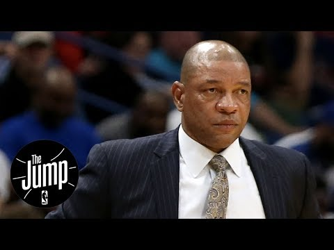 Doc Rivers blames Lonzo Ball for Blake Griffin's injury | The Jump | ESPN