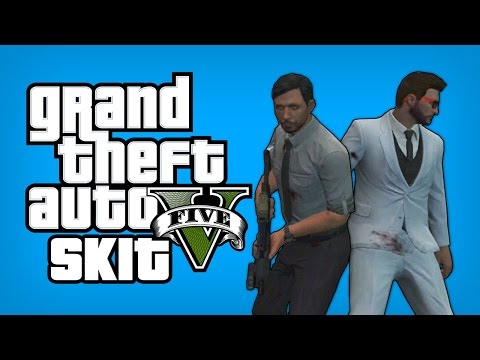 GTA 5 Online Funny Skits - Gang Attack Revenge (GTA 5 Online Funny Moments)