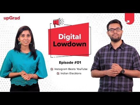 Digital Lowdown EP#1 - Marketing News [Mar 2019] | Indian Elections | Instagram: TOP Influencer Spot