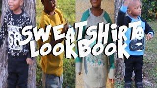 SWEATSHIRT LOOKBOOK  KIDS