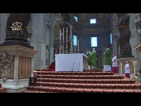Messe de clôture du Synode
