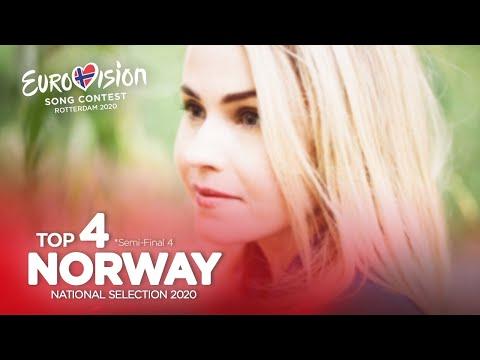 🇳🇴: Eurovision 2020 - Melodi Grand Prix 2020 - Semi-Final 4 - Top 4