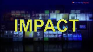 News Words: Impact