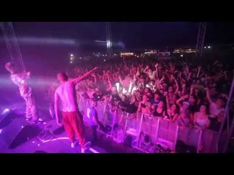 LITTLE BIG - Everyday I'm Drinking, live Couvre Feu Festival (FR) 22.08.2015 (видео)