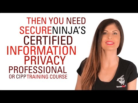 CIPP - Certified Information Privacy Professional - YouTube
