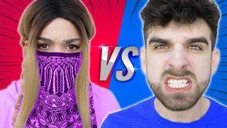 STALKER vs SPY NINJAS - My Girlfriend Says She's a Better YouTuber, Lives To Regret It
