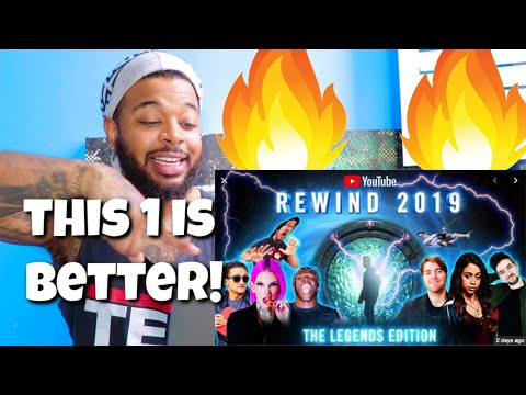 YouTube Rewind 2019 - The Legends Edition | Reaction