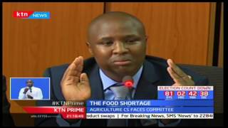 CS Willy Bett: Artificial food shortage was created by powerful individuals