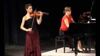 Nevena Rakic - W.A.Mozart - Koncert No 5 za violinu i klavir A-Dur Allegro aperto