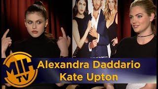 Alexandra Daddario And Kate Upton: The Layover