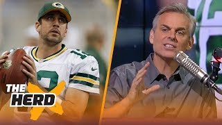 Colin Cowherd on where Aaron Rodgers ranks on the list of all-time great QBs   NFL   THE HERD