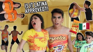 Trying ON The HOT CHEETO Collection.. Aiii no. | Louie's Life