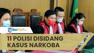 11 Anggota Polsek Tanjungbalai Disidang Kasus Narkoba, Sisihkan Sabu Temuan untuk Dijual